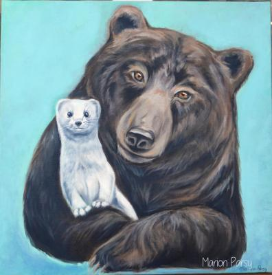 L'ours et l'hermine